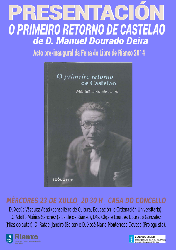 CARTAZ LIBRO DOURADO