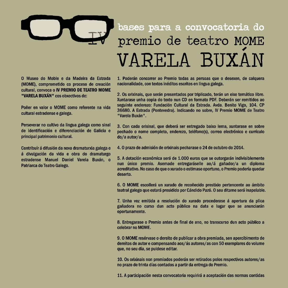 Premio Varela Buxán 2014 2
