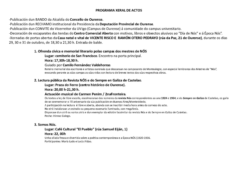 Programa Nós 2014 2