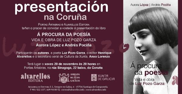 Convite presentación Biografia Luz Pozo -20 horas- AC 201114