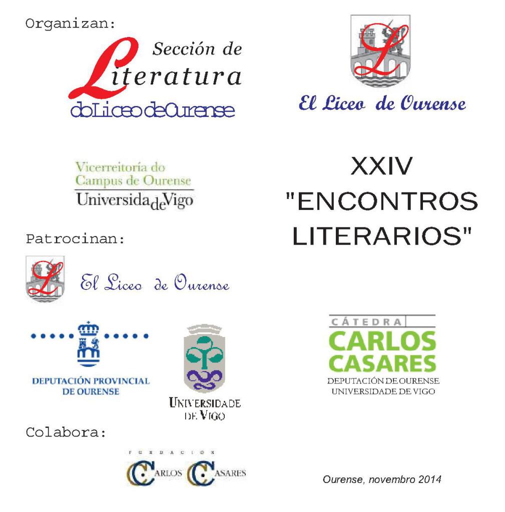 ENCONTROS LITERARIOS 1