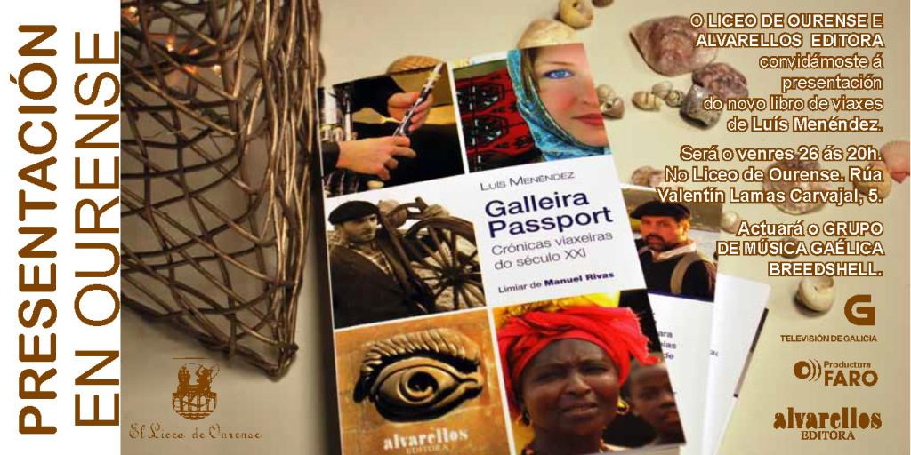 Convite presentación GALLEIRA PASSPORT Liceo Ourense 261214