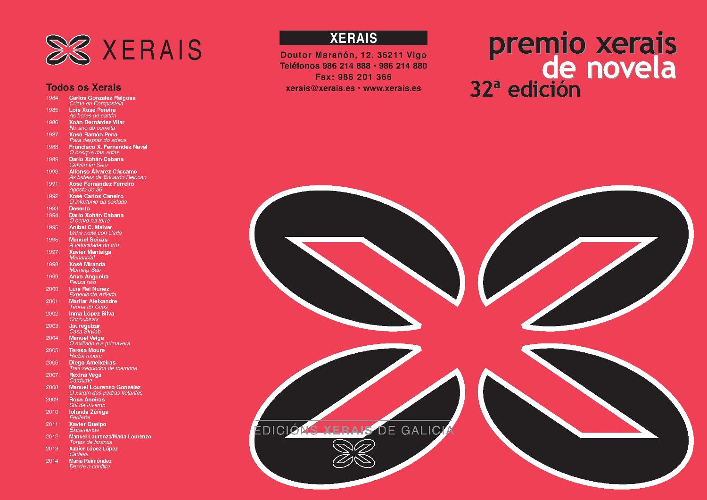 Premio Xerais 2015 1