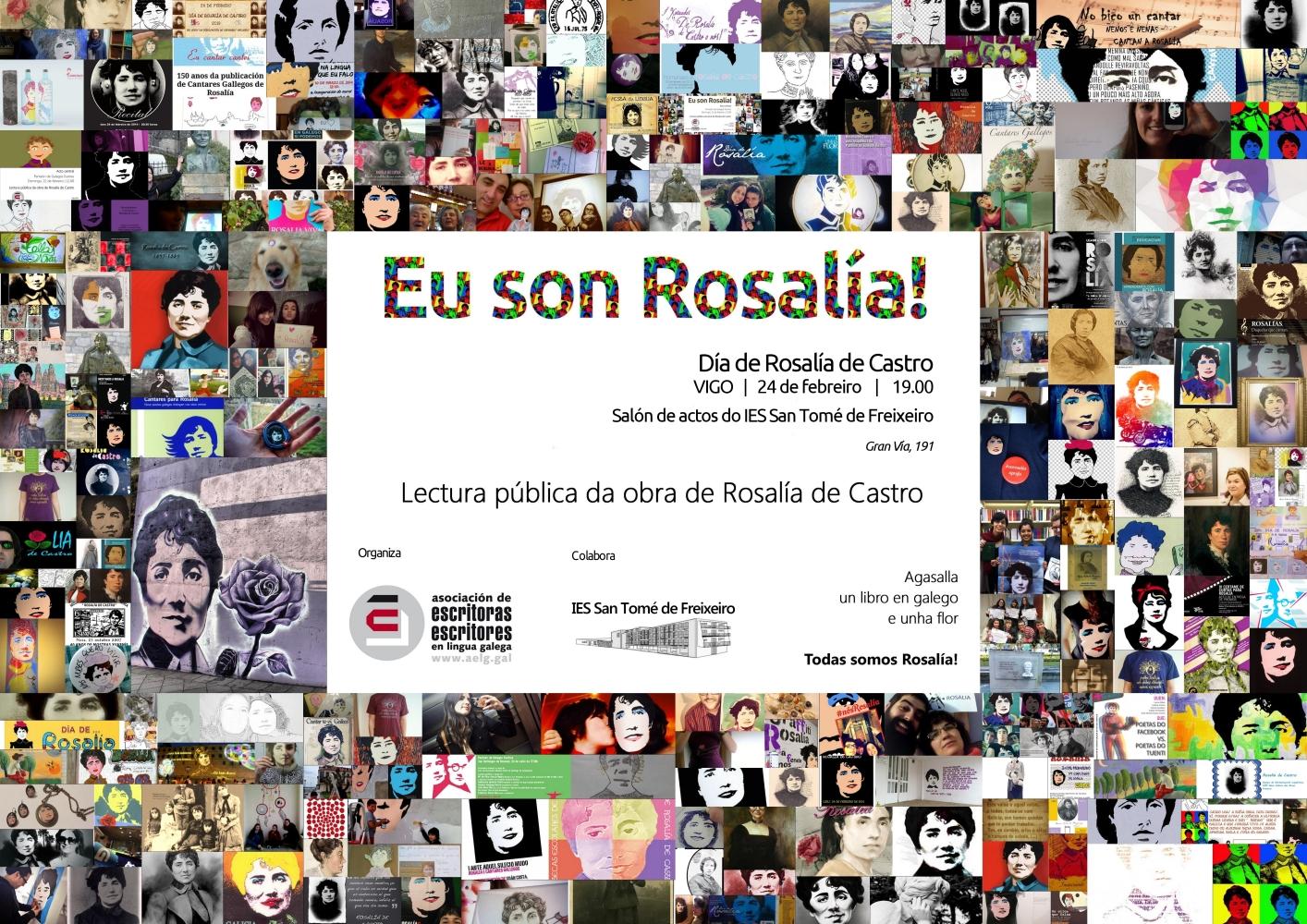 2015-02-24 Vigo Eu Son Rosalía cartelrosaliaSanTomeVigo(2)