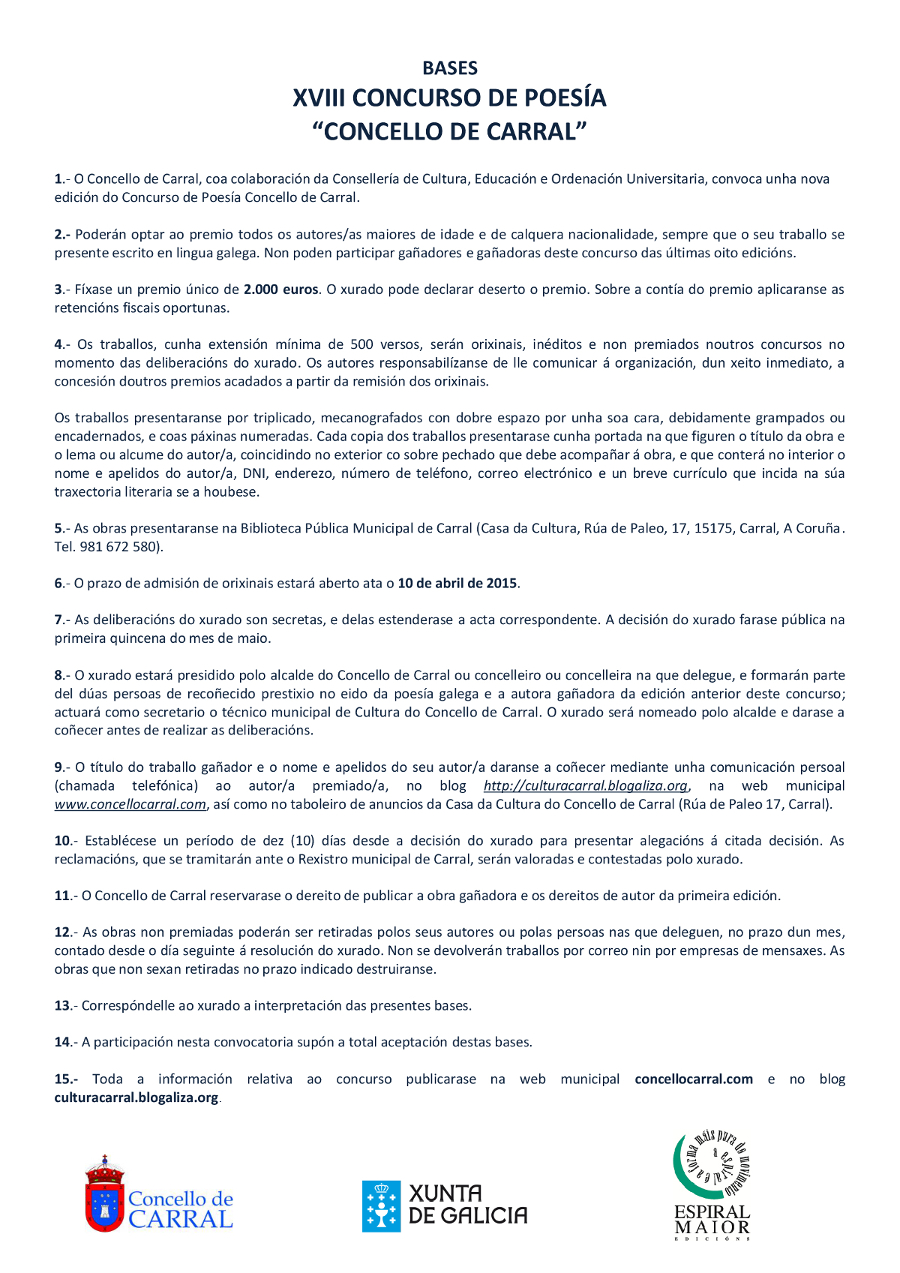 Bases_XVIII_Concurso_de_Poes_a_Concello_de_Carral_