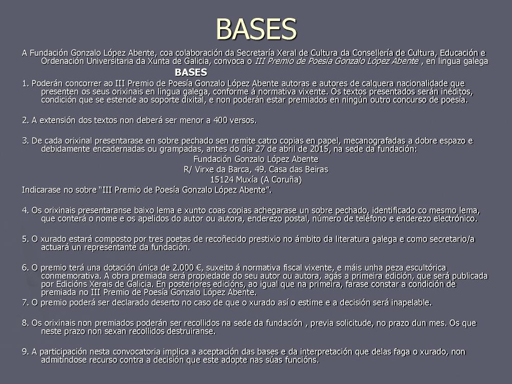 Bases López Abente 2