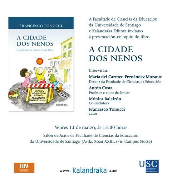 Compostela A cidade dos nenos