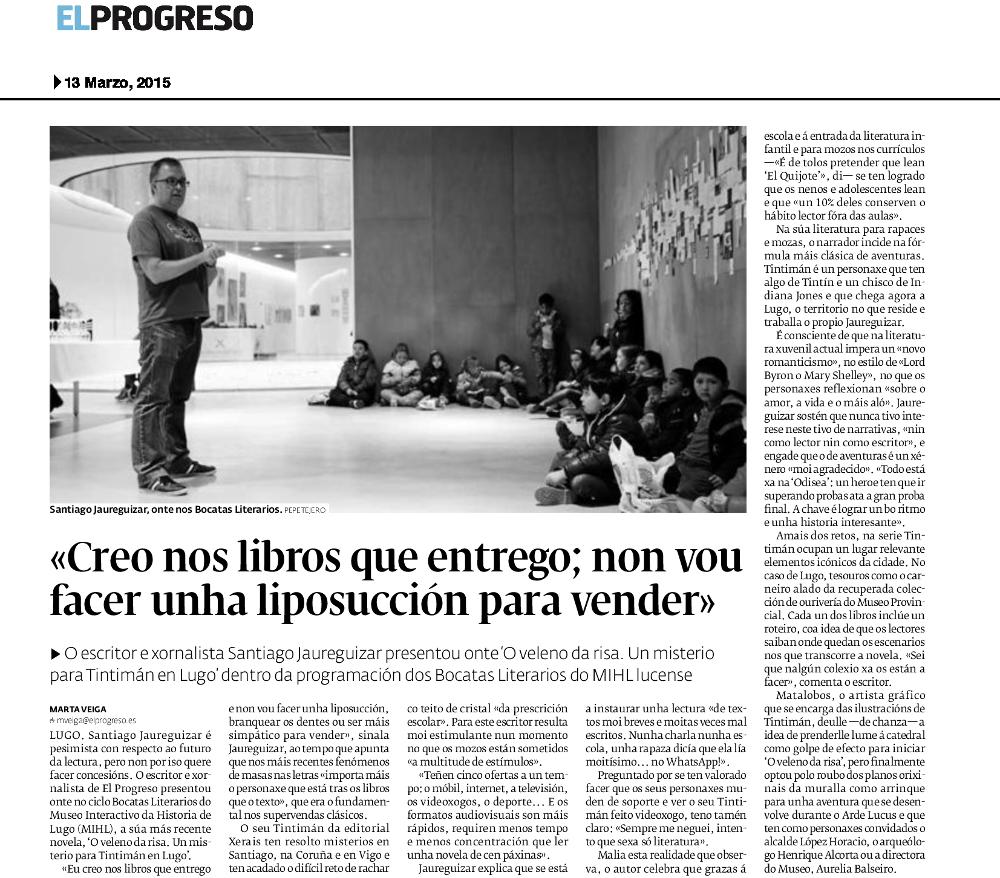 Entrevista a Jaureguizar