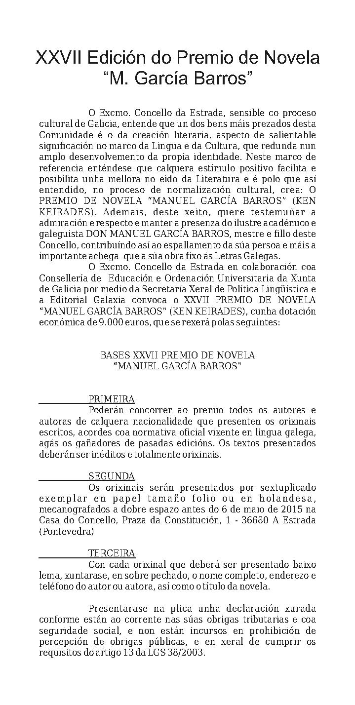 Premio García Barros 2