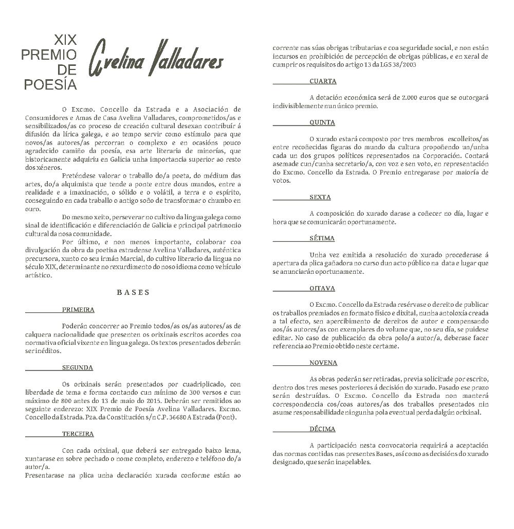 XIX Avelina Valladares 2