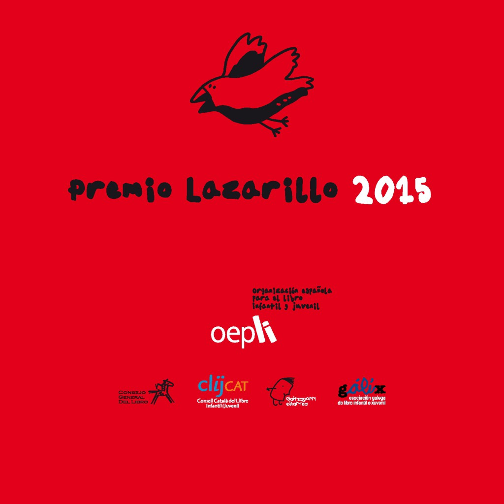Premio Lazarillo 2015 capa