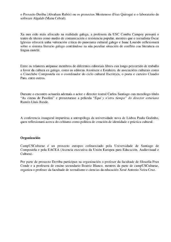 Novo pensamento galego 2015 07 2