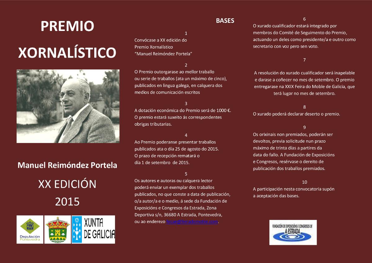 Premio Xornalístico Reimóndez Portela