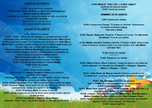 Feira do Libro de Burela 2015 programa