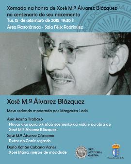 Homenaxe a Xosé María Álvarez Blázquez