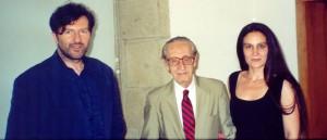 Claudio Rodríguez Fer, Eugenio Granell e Carmen Blanco