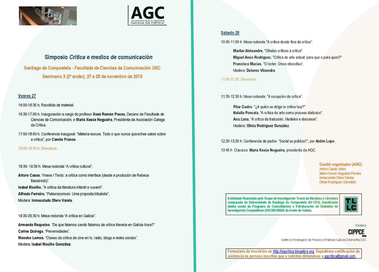 Simposio AGC 2015