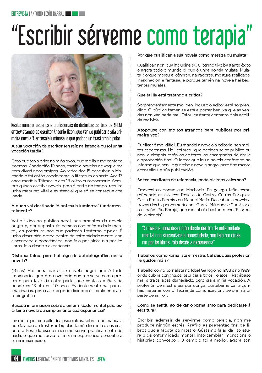 Antonio Tizón Vimbios 1