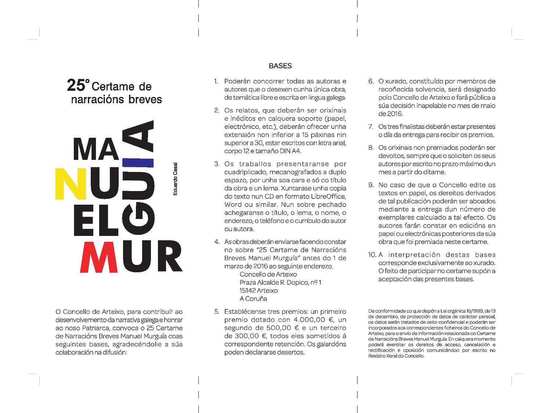 Premio Manuel Murguía 2016 1