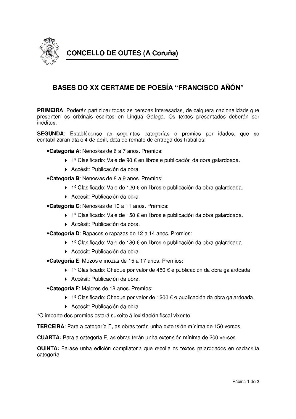 Bases XX Francisco Añón 1