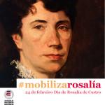 Cartel AELG Día de Rosalia de Castro 2016