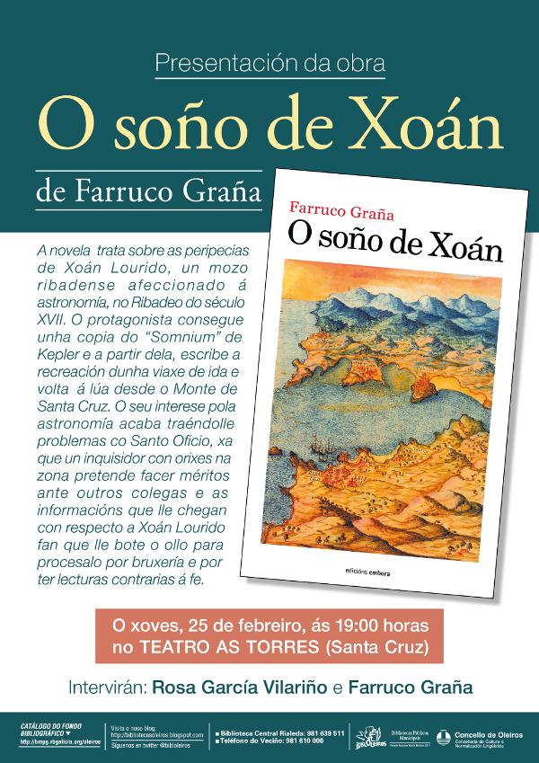 O soño de Xoán Farruco Graña Oleiros febreiro 2016