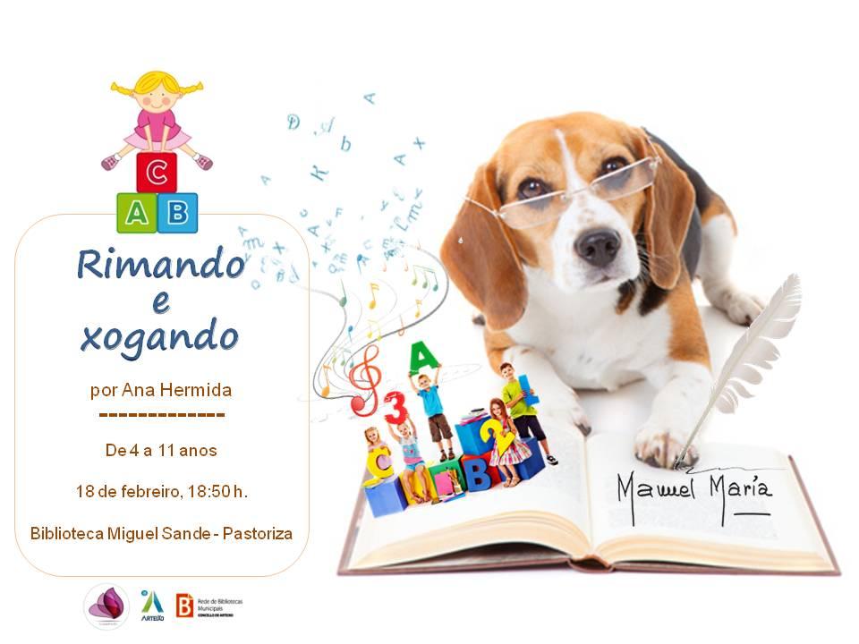 RIMANDO E XOGANDO MANUEL MARÍA_Pastoriza