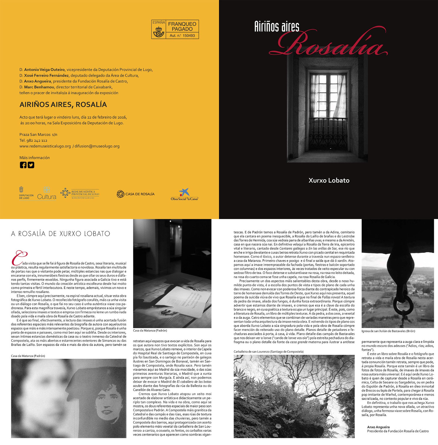 invitacio Rosalia en Lugo