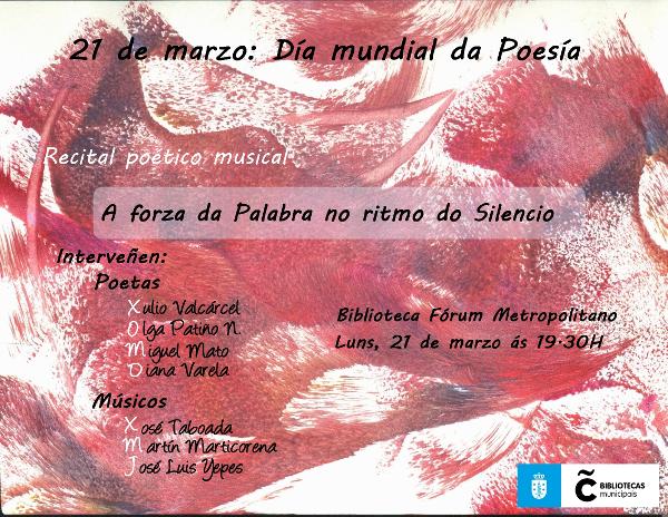 Cartel Día da Poesía 21-03-2016