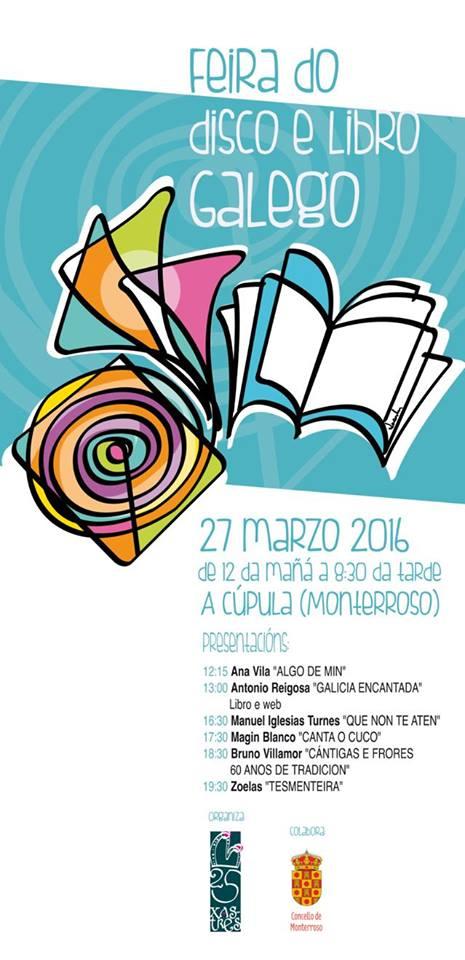 Feira do Libro e o Disco Galego Monterroso