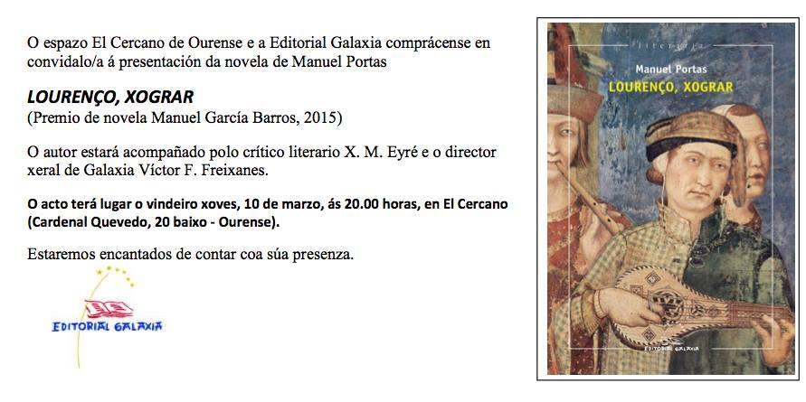 Manuel Portas Lourenço Ourense
