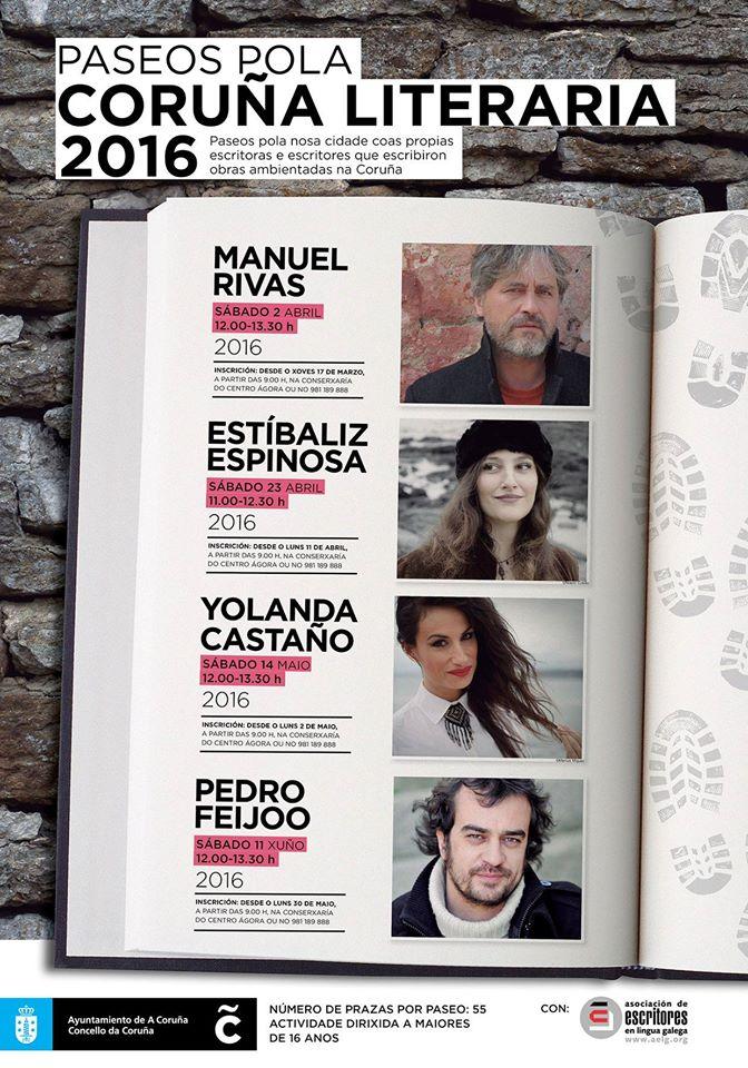 Paseos pola Coruña Literaria 2016