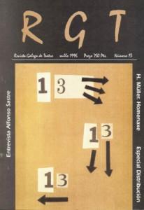 Revista Galega de Teatro 1996
