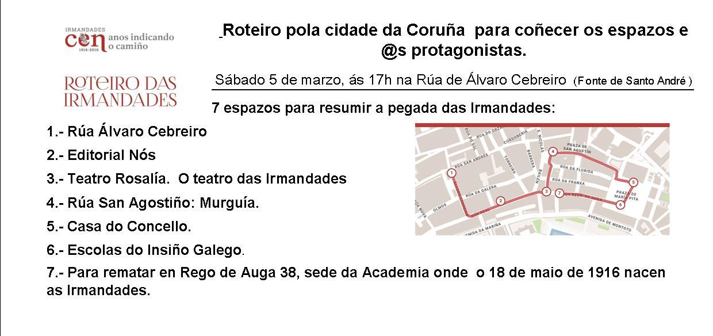 Roteiro das Irmandades A Coruña