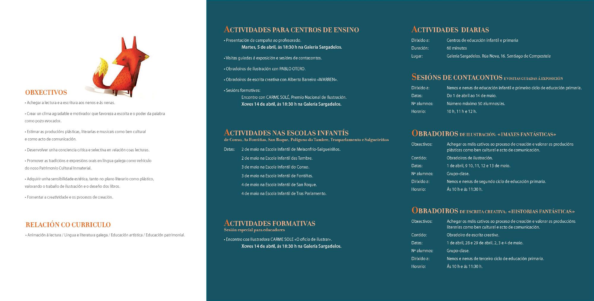 XVI Campaña Animación á Lectura Compostela Kalandraka 1