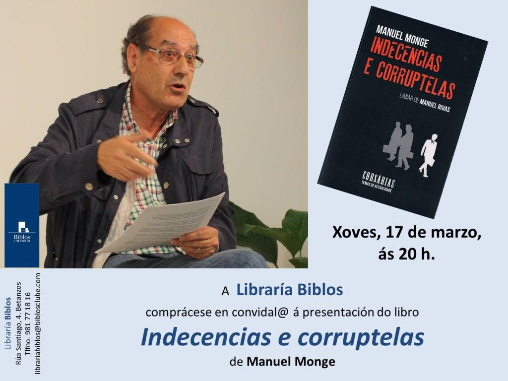 presentación Manuel Monge