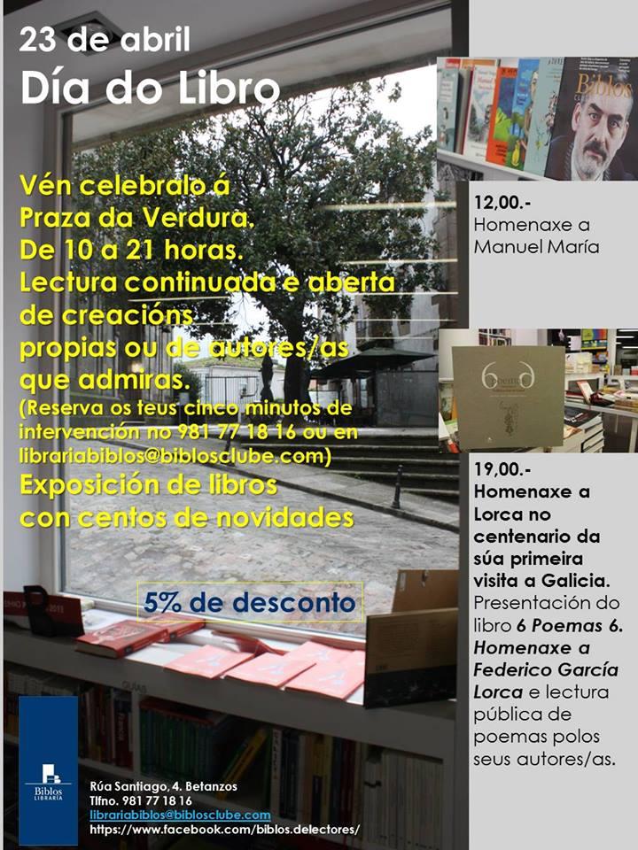 Betanzos Día do Libro 2016
