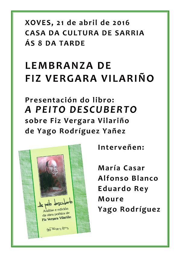 Cartel de Fiz Vergara Vilariño