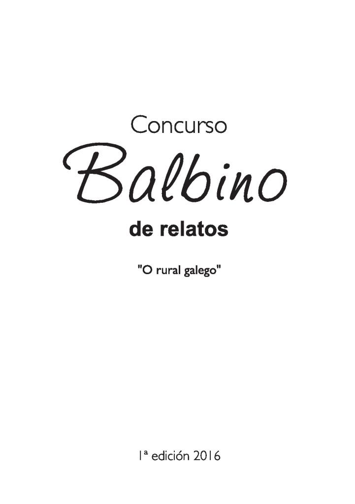 Concurso Balbino 2016 1