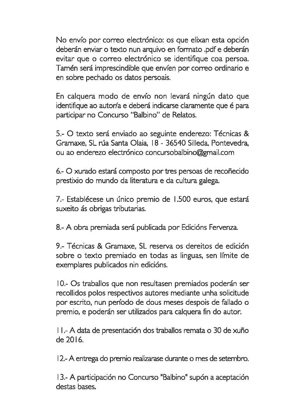 Concurso Balbino 2016 3