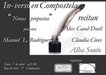 In-verso Compostela abril 2016