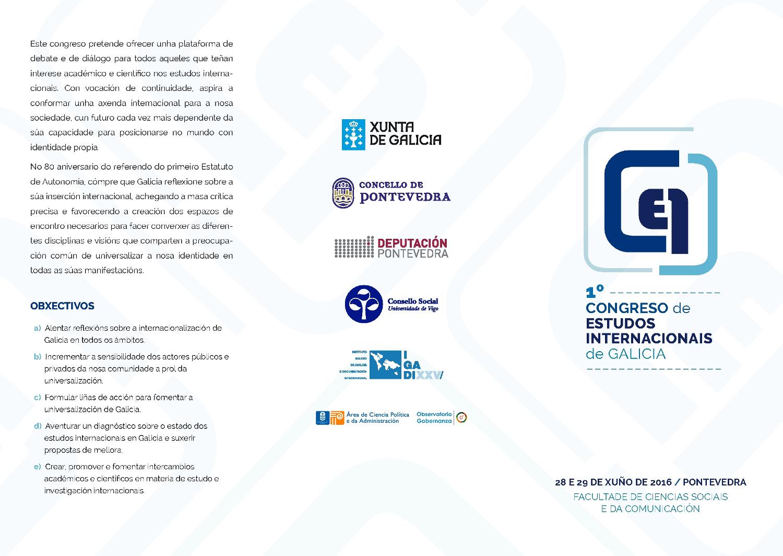 Congreso Estudos Internacionais Galicia 1