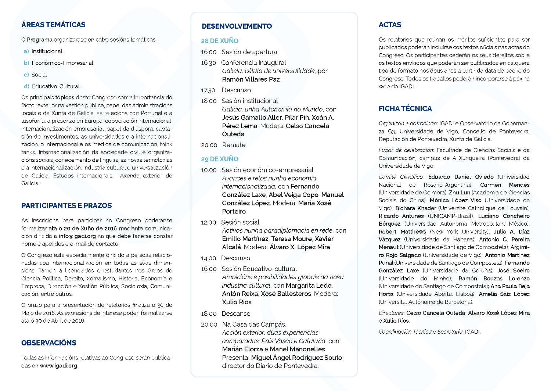 Congreso Estudos Internacionais Galicia 2