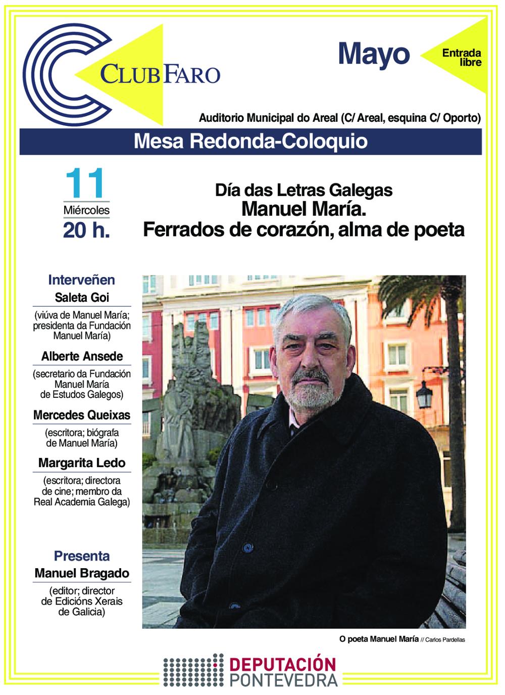 Mesa redonda coloquio Manuel María 11-05-2016