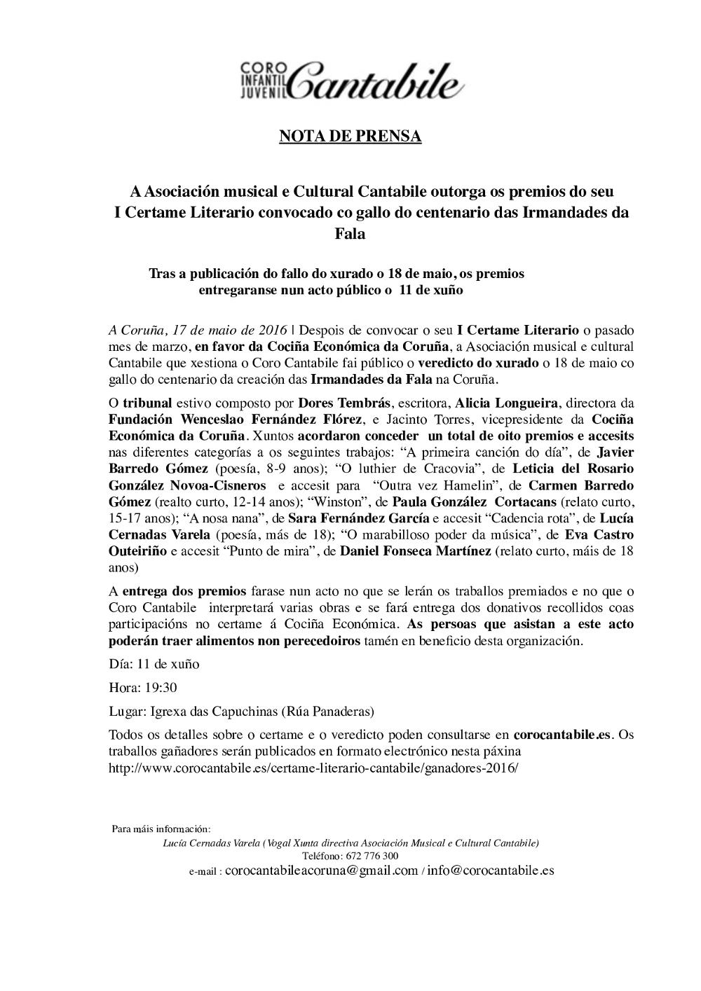 Nota_prensa_Certame_LiterarioCantabile_Galego