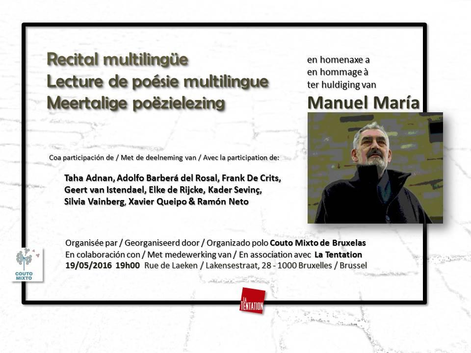Recital Manuel María