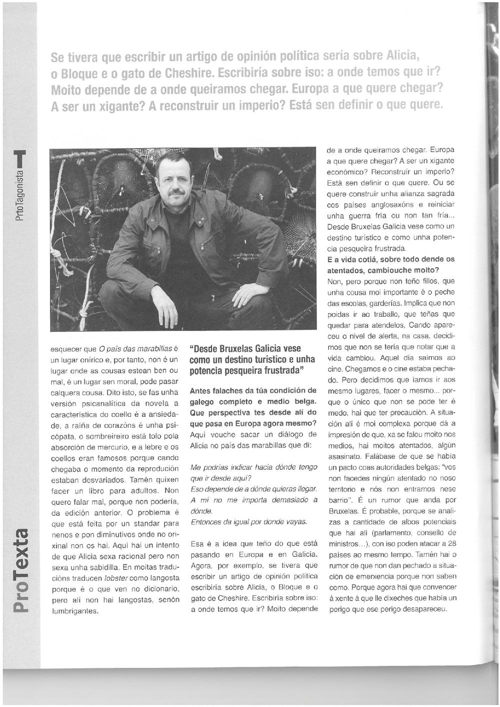 Xavier Queipo Tempos 5