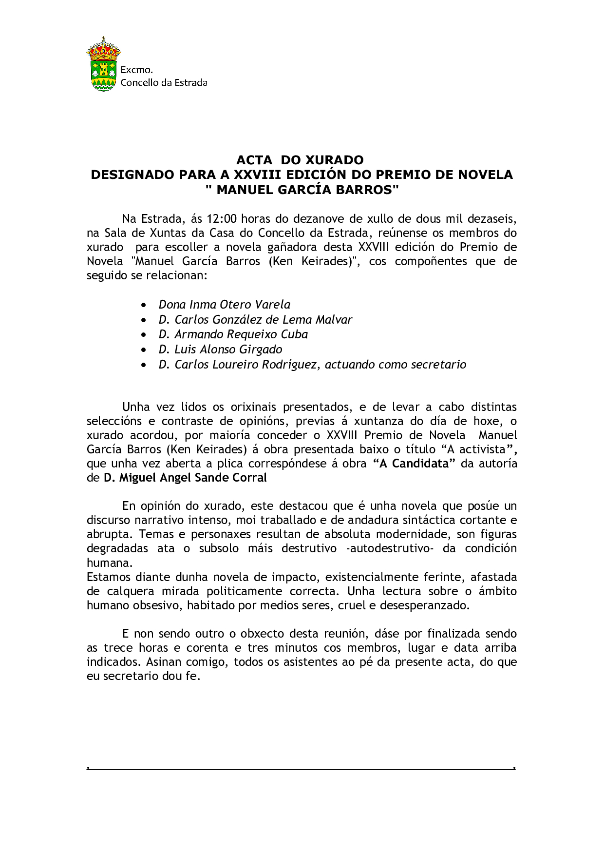Acta xurado García Barros 2016