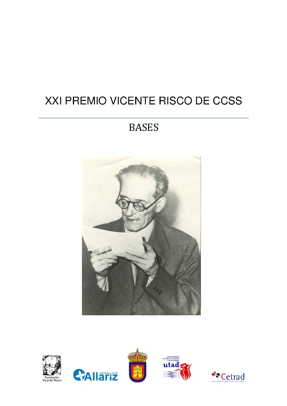 XXI Premio Vicente Risco Ciencias Sociais 2016 1