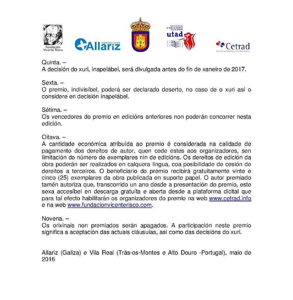 XXI Premio Vicente Risco Ciencias Sociais 2016 3